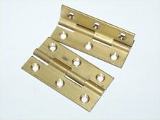 "2"" Brass Butt Hinge Door Hinges x 1pair/ SLOT F40"