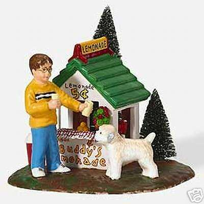 Dept 56 Snow Village Ben /& Buddy/'s Lemonade Stand #55144 NIB