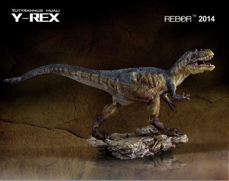 REBOR Dinosaur Collectables Yutyrannus Huali Y-Rex 1 35 Scale