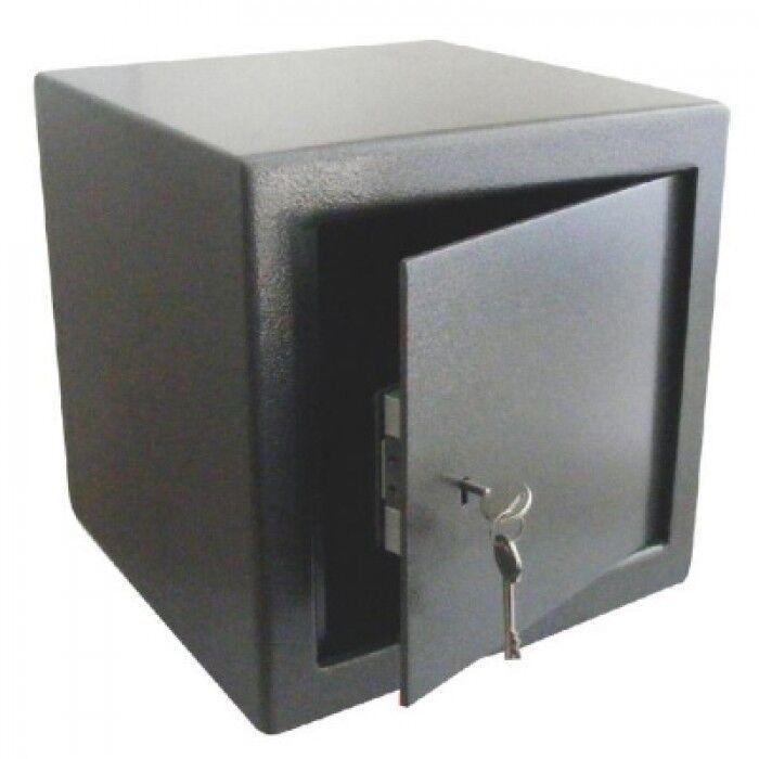 ASEC AS6008 utilidad seguro Compacto 30CM Cubo Cerradura con llave de calificación de efectivo
