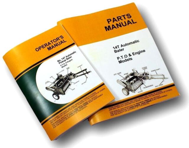 Operators Parts Manual Set For John Deere 14t Baler Owners Knotter. Operators Parts Manual Set For John Deere 14t Baler Owners Knotter Catalog Jd. John Deere. John Deere 14t Baler Pto Shaft Diagram At Scoala.co
