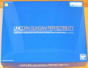 Bandai Unicorn Gundam 1  144 RG Full Psycho -Frame RX -0 Prödotyp Promo NIB