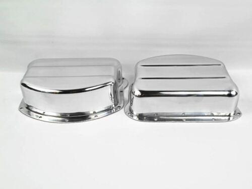 """17500-54 Panhead Rocker Arm /""""Pan/"""" Cover Set Aluminum USA Made"""