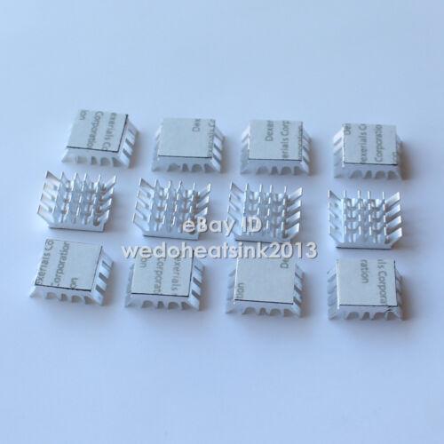 20pcs Spiky Silver Aluminum Heatsink For PC VGA Xbox360 PS DDR Memory