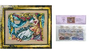MIRABILIA-Cross-Stitch-PATTERN-and-EMBELLISHMENT-PACK-Athena-Goddess-Wisdom-MD97