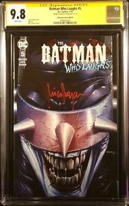 BATMAN-WHO-LAUGHS-5-CGC-SS-9-8-MICO-SUAYAN-VARIANT-JOKER-HARLEY-QUINN-DC-COMICS