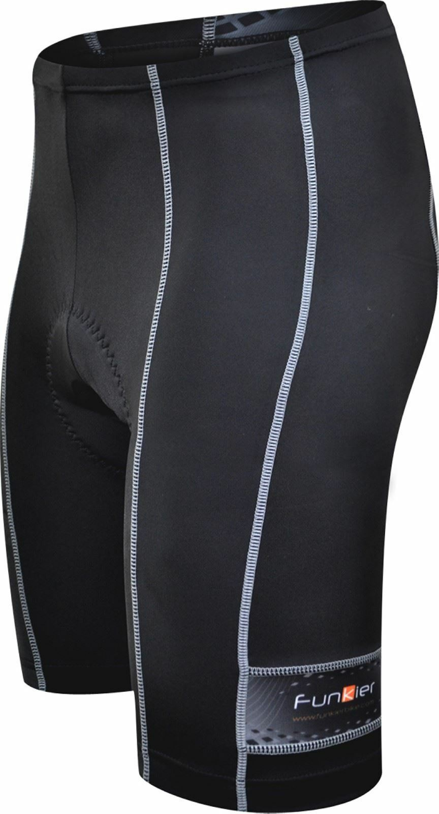 Funkier Force S-203-C1 - 10 Panel Aktiv Shorts aus Schwarz Gr. M