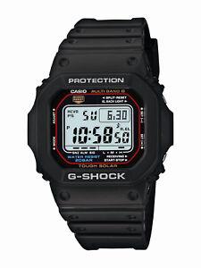 Casio-G-Shock-Men-039-s-Tough-Solar-Black-Resin-Band-44mm-Watch-GWM5610-1