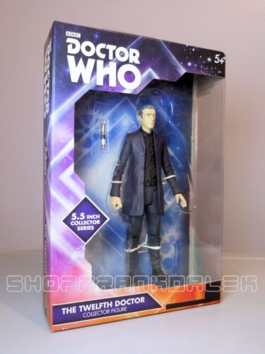 12th Twelfth Doctor Action Figure Doctor Who chemise noire