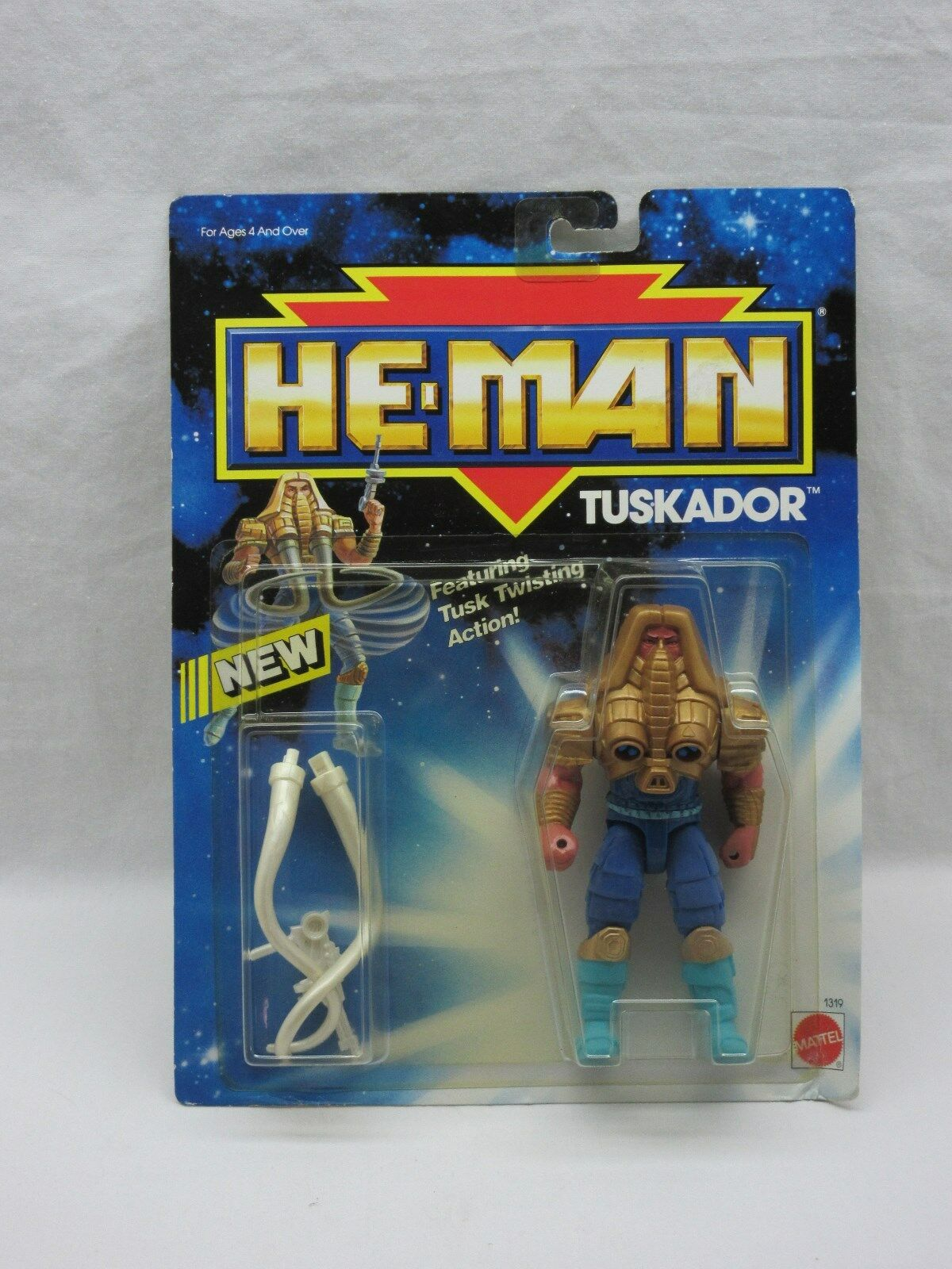 MOTU,TUSKADOR,He-Man Nuovo Adventures,MOC,sealed,figure,Masters of the Universe