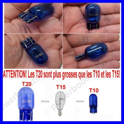 2 AMPOULES T20 W21//5W HALOGÈNE LAMPE FEU EFFET XÉNON POUR ALFA ROMEO MiTo 955