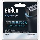 Braun Series 5 51B Foil & Cutter Waterflex Replacement Pack NEW