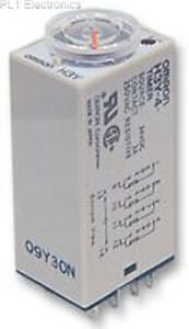 OMRON-INDUSTRIAL-AUTOMATION-H3Y-4-24DC-10S-Timer-On-Delay-24VDC-10S