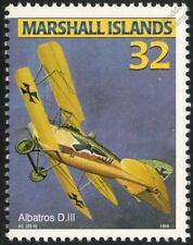 Luftstreitkräfte WWI ALBATROS D.III German Biplane Aircraft Mint Stamp