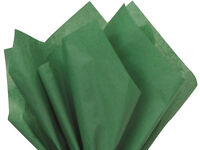 Holiday Green Tissue Paper For Gift Wrapping 20x26 Sheets Eco-friendly