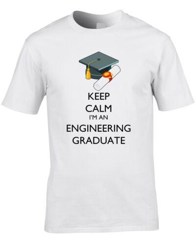Engineering Graduate Mens T-Shirt Graduation Gift Civil Engineer University Cool
