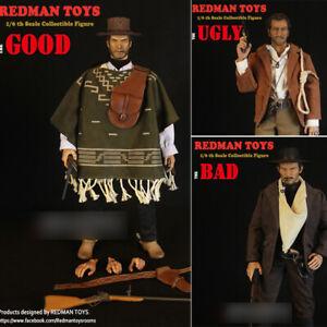 REDMAN Black Shirt TOYS THE BAD COWBOY RM043 1//6 ACTION FIGURE TOYS