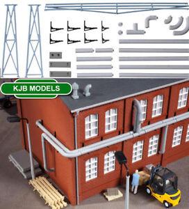 Auhagen kit 80108 NEW HO FACTORY CYCLOE EXTRACTION UNIT