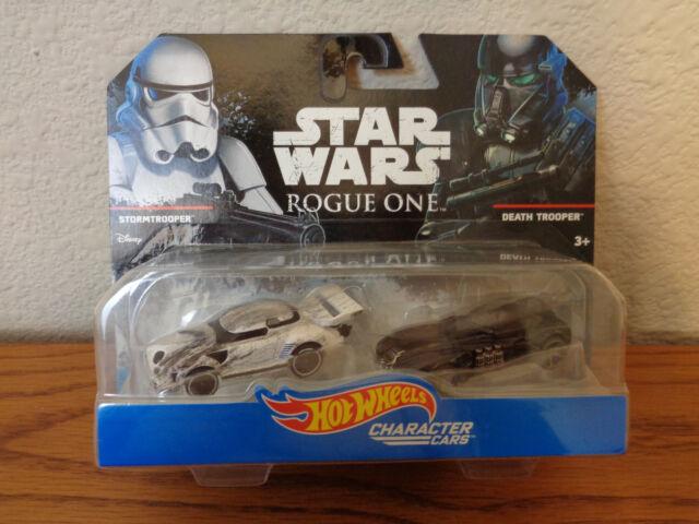 Hot Wheels Star Wars Rogue One Force Awakens Rebels Character Cars *NEW* MOC