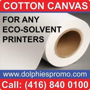 Blank Roll of Fine Quality Polyest Matte Art Canvas Artist ARTISTIC Supply for Inkjet Canvas Prints Printing - $129/roll Markham / York Region Toronto (GTA) Preview