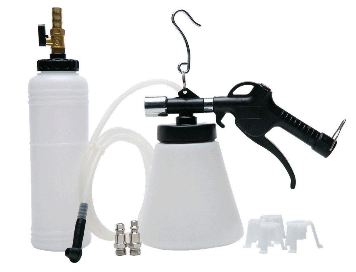 FreeTec Pneumatic Air Pressure Bleeder Tool Kit Garage Brake Bleeding Device Oil Extractor Pump Kit Car Service