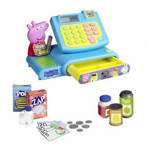 Peppa-Pig-Kasse-Spielzeug-Set-Elektronische-Tilly-Kasse-mit-Zubehoer
