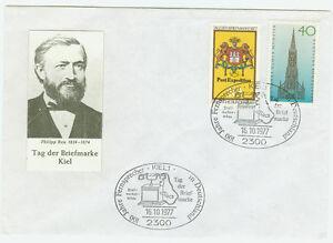 BRD-FDC-Ersttagsbrief-1977-Tag-der-Briefmarke-Kiel-Mi-Nr-948-37