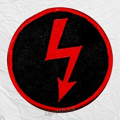 Marilyn Manson Ray Logo Embroidered Big Patch Antichrist Superstar Spooky Kids