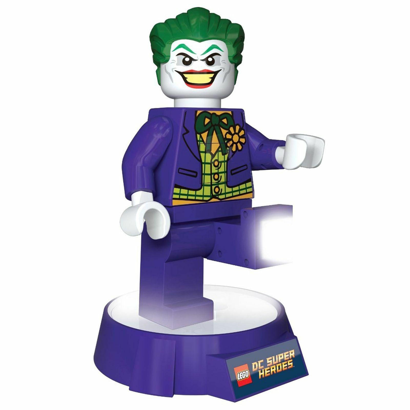 LEGO LEGO LEGO DC Supereroi 'The Joker' LED Torcia & Luce Notturna Batman 30959b