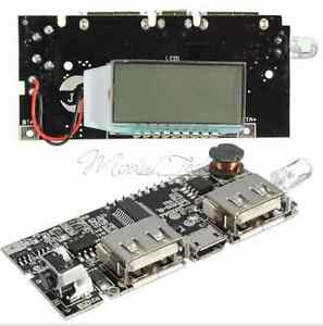 Dual-USB-5V-1A-2-1A-Mobile-Power-Bank-18650-Battery-Charger-PCB-Module-Board