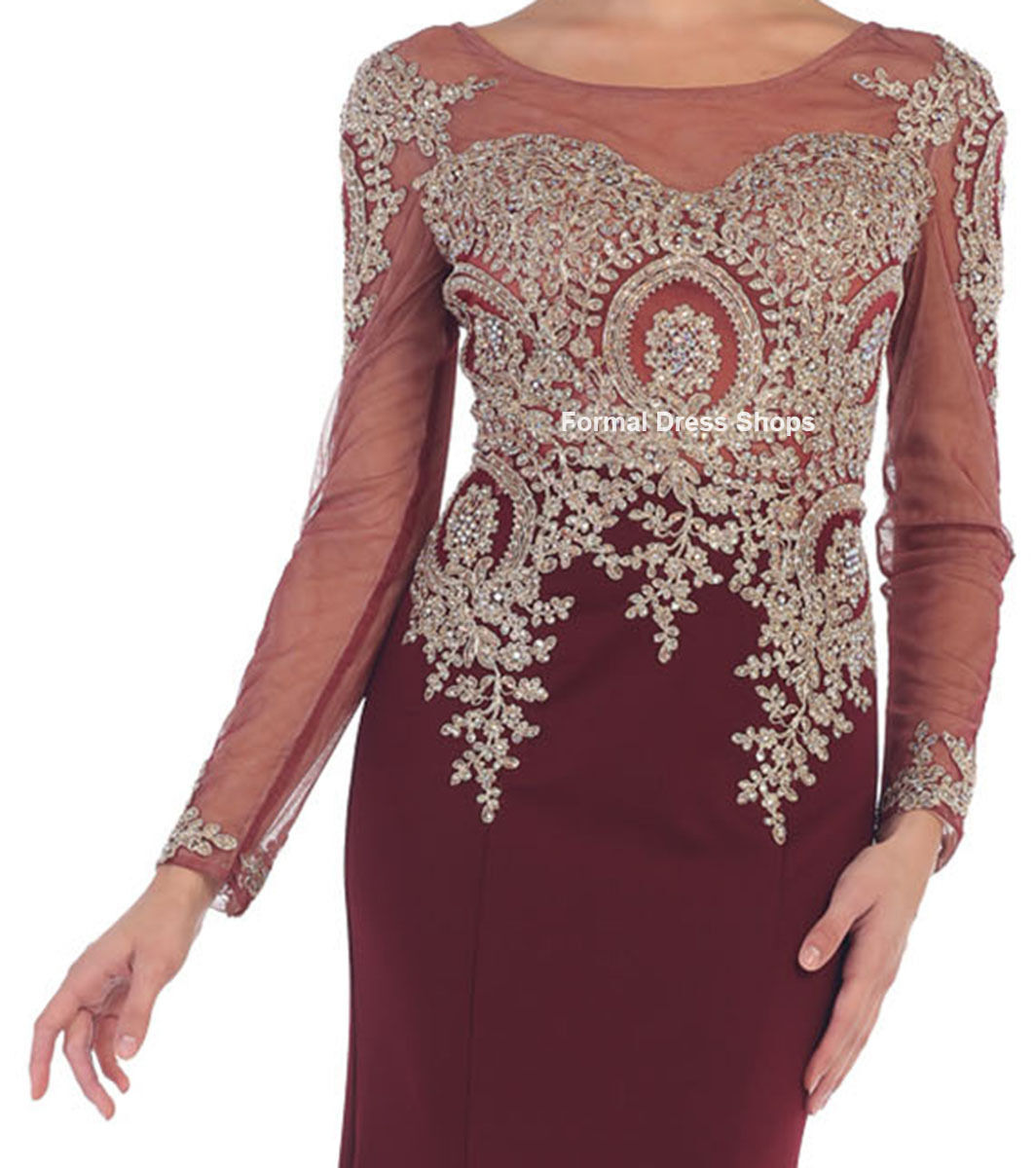 FORMAL PROM DRESSES STRETCHY EVENING MODERN MOTHER Of THE