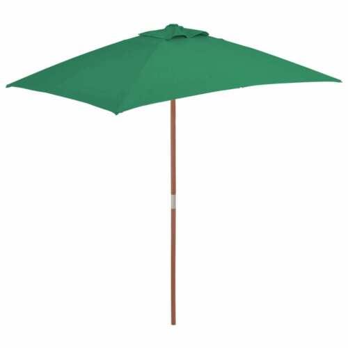 vidaXL Sonnenschirm 150x200 cm Ampelschirm Gartenschirm Schirm mehrere Auswahl