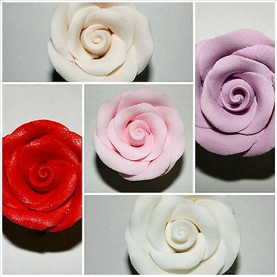 Fiore Rosa Formale Dello Zucchero, Cake Topper, Decorazione Per Torta, Sugarcraft- Belle Arti