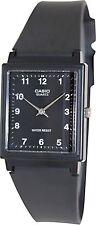 Casio MQ27-1B Mens Classic Black Resin Analog Casual Dress Watch - Black Dial
