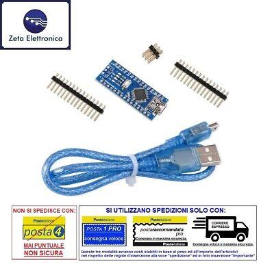 Nano V3.0 Mini USB ATMEGA 328 5 V 16 M 100/% Original FTDI FT232RL pour Arduino Z3