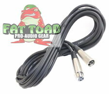 Fat Toad U-FBA-AP2109-1-f 20ft Pro Audio XLR Microphone Cable