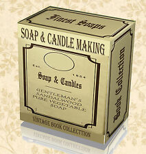 45 Rare Books on DVD How to Make Soap - Candle Making Wax Fragrance Base Oil Dye