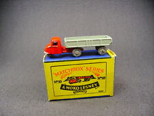 matchbox lesney Moko Scammell mechanical horse & trailer 10A (England) + Box