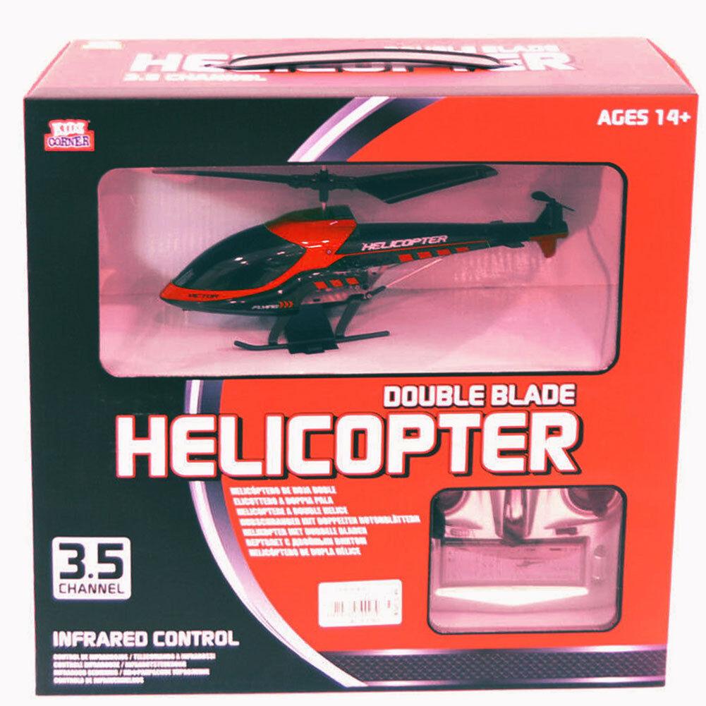 Elicottero radiocouomodato con telecouomodo helicopter doppio balde balde balde PS 04346 e64985