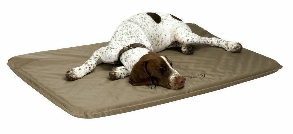 Large Soft Heated Dog Bed Orthopedic Pad Indoor Outdoor Kennel House Warmer Mat