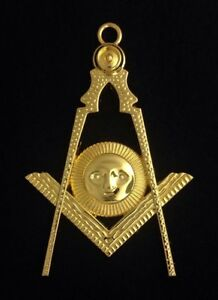 Details about Masonic Senior Deacon - Gold Collar Jewel (FBLJ-1G)