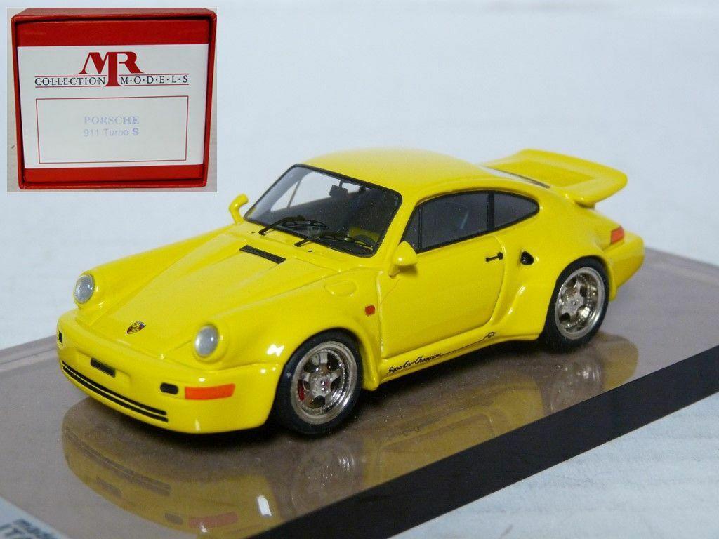 Monsieur MR01A 1 43 1992 PORSCHE 911 turbo S 3.3 léger fait main en résine voiture modèle