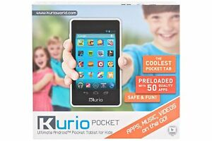 Details about Kurio Pocket Tablet 8GB Kid-Safe Web Surfing Android 4 2  Games Apps Music Videos