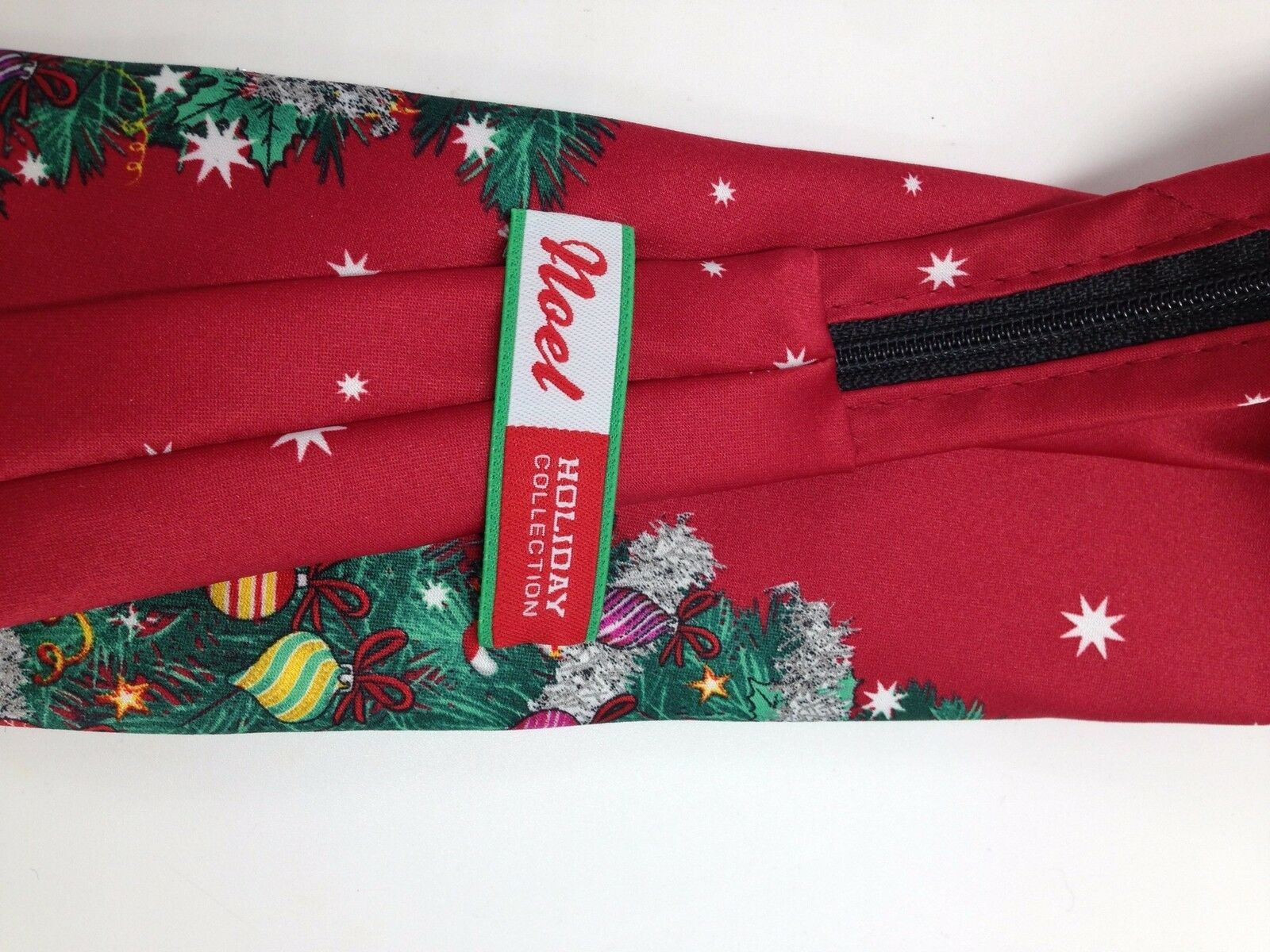 Details about  /NOEL HOLIDAY $49 MENS Black UGLY Christmas Tie Necktie NWT