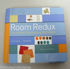 ROOM REDUX HOME DECORATING WORKBOOK ECKSTUT JAMES BOOK