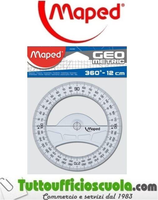 GONIOMETRO MAPED TECHNIC 360° - DIAMETRO 12 cm GEOMETRIC