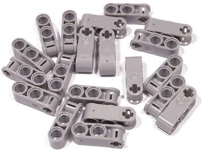 Importato Dall'Estero Lego - 20 X Connettore 1x3 Grigio Chiaro/2 X Foro 1 X Croce Foro/42003 Merce Nuova (l10-mostra Il Titolo Originale