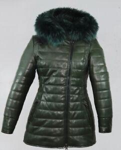 Giacca giubbino cappotto donna in di pelle tutte le tg!