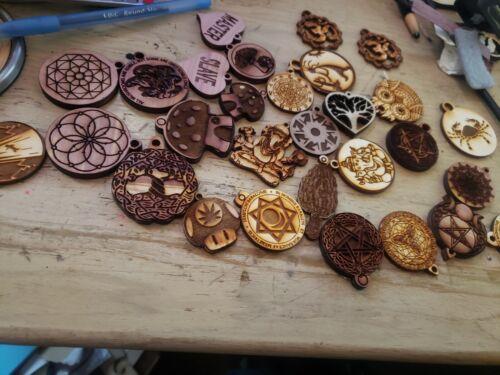 metaphysical necklace lot, 50 pcs Wholesale pendants pagan sacred geometry