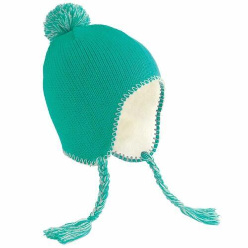 Beechfield Classic Tassel Peru Hat ear flaps pompom and tassel Unisex winter hat